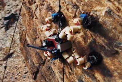 La Agencia Espacial de los Estados Unidos desarrolla robot escalador