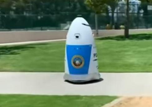La nueva arma contra la delincuencia en el estado de California es el robot K5