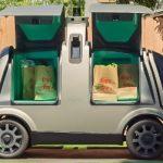 El auto sin pasajeros Nuro de pruebas en California