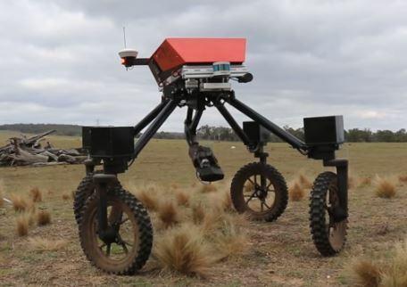 El robot agrícola SwagBot que es multifunción