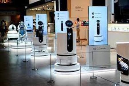 LG se une en la carrera de crear robots camareros